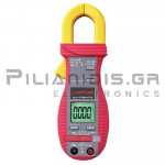 Clamp meter Digital AC-DC (600V & 600A AC/DC) + Capacitance, Ω, Hz