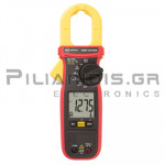 Clamp meter Digital AC (600V AC/DC & 600A AC) + Capacitance, Ω, Hz