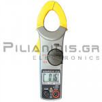 Clamp meter Digital AC-DC (600V & 400A AC/DC) + Ω