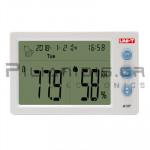 Thermometer - Humidity meter Digital (Temp: -10℃C / +50℃C) & (Hum: 20% - 95%)