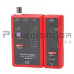 Tester LAN + Τηλεφώνου & BNC με Display