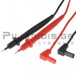 Test Leads 2mm | 600V | CATI 1000V | Red - Black | 0.9m