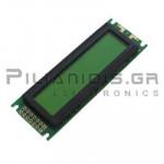 LCD Alphanumeric Module 16x2; Positive 85x30x12,5mm