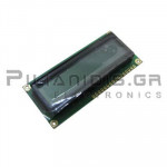 LCD Alphanumeric Module 16x2; STN Positive 85x36x13,2mm