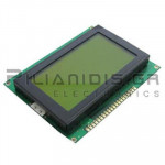 LCD-Graphic display 128x64; STN Positive yellow-green 71,7x39mm
