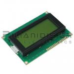 LCD Alphanumeric Module 16x4; STN Positive yellow-green 62x26mm