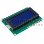 LCD Alphanumeric Module 16x4; STN Negative Blue 62x26mm