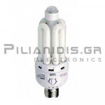 Lamp E27 SmartLight 20W 3000K + Sensor