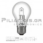 Halogen Lamp E27 30% Energy Saver 28W 330lm