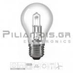 Halogen Lamp E27 30% Energy Saver 52W 830lm