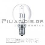 Halogen Lamp E14 30% Energy Saver 18W 200lm Ball