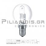 Halogen Lamp E14 30% Energy Saver 42W 630lm Ball