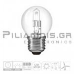 Halogen Lamp E27 30% Energy Saver 42W 630lm Ball