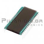 LCD Display 7-Segment STN-Positive (3.5digits) 10mm Vs: 3-5V Pin: 7.5mm