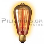 Λάμπα Rustic Large Goldline Ε27 240V 40W 130Lm ST64