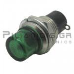 Ενδεικτική λυχνία (χωρίς λαμπάκι) O10mm πράσινη