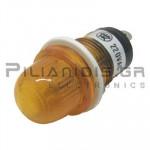 Indicator Neon; Orange 220VAC; Drilling O15mm