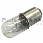 Incandescent lamp BA15d 220V/260V 5-7W Ø16x45mm