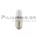 Filament lamp miniature E5,5 24V 50mΑ 0,6W Ø4,7x15mm