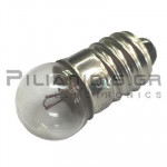Filament lamp miniature E10  4,8V 500mΑ 2,4W Ø11x23mm
