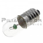 Filament lamp E10  6V 500mΑ 3W Ø10x28mm
