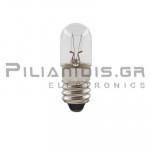 Filament lamp miniature E10 12V 100mΑ 1,2W Ø10x28mm