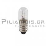 Filament lamp miniature E10 24V  80mA 2W  Ø10x28mm