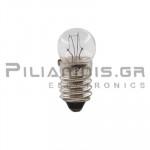 Filament lamp miniature E10 24V 125mΑ 3W Ø11x24mm