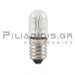 Filament lamp miniature E10 240V 2.4W Ø10x28mm