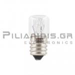 Filament lamp E14 220/260V 5/7W Ø16x35mm