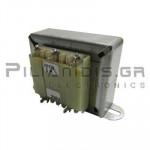 Transformer Vin:230VAC - Vout:12VACx2  2x500mA