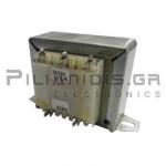 Transformer Vin:230VAC - Vout:12VACx2  2x750mA