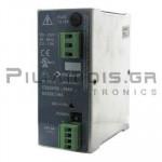 Τροφοδοτικό ράγας 24VDC; 6A; 90-264VAC