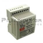 Τροφοδοτικό ράγας 48W; 24VDC; 2A; 85-264VAC; 120-370VDC