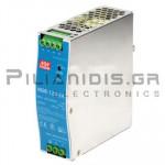 Τροφοδοτικό ράγας 120W; 24VDC; 5A; 90-264Vdc / 127-370VAC