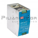 Τροφοδοτικό ράγας 240W; 24VDC; 10A; 90-264Vdc / 127-370VAC