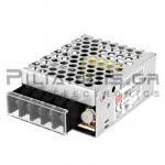 Τροφοδοτικό  15W; 15VDC; 1A; 88-264VAC; 125-373VDC