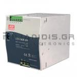 Τροφοδοτικό ράγας 960W; 24VDC; 40A; 180-264VAC; 254-370VDC