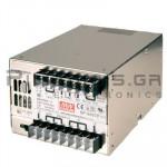 Τροφοδοτικό 480W; 12VDC; 40A; 85-264VAC; 124-370VDC