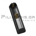 Φορτιστής Li-Ion x 1θέσης 1.0A,  (Vin: 5Vdc, Micro USB) PowerBank Flexible