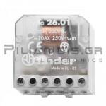 FINDER Ρελέ Καστάνιας  26.01 230VAC 1ΕΠ/NO