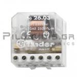 FINDER Ρελέ Καστάνιας  26.03 230VAC 1NO+1NC