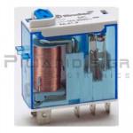 Ρελέ 12VDC 16A/250VAC  300R  1 x Μεταγωγική Επαφή