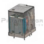 Relay Ucoil: 24VDC  600R 10A/250VAC DPDT