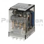 Relay Ucoil: 48VDC 2400R  7A/250VAC 4PDT
