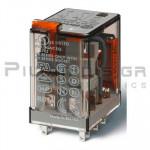Relay Ucoil: 110VAC  4K 10A/250VAC DPDT