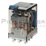 Relay Ucoil: 48VDC 2400R 10A/250VAC 3PDT