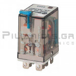 Relay Ucoil: 24VDC  600R 12A/250VAC DPDT