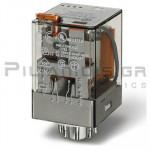 Relay Ucoil: 110VAC 1600R 10A/250VAC DPDT