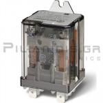 Relay Ucoil: 110VAC 1600R 16A/250VAC DPDT